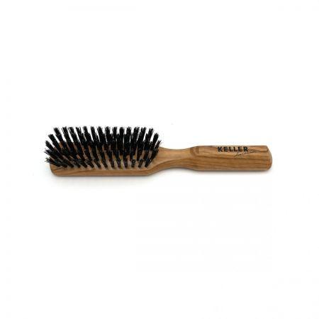 Haarbürste länglich mit extra festen Wildschweinborsten