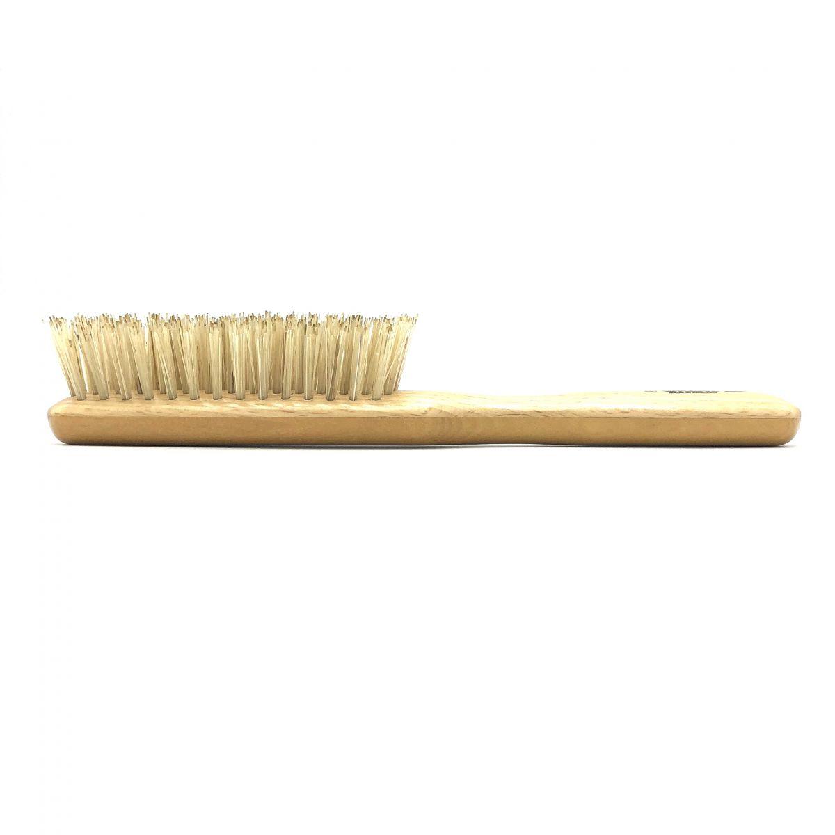 Haarbürste schmal mit extra festen Schweineborsten