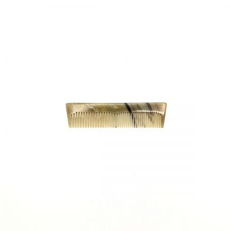 Taschenkamm 10,5 cm aus hell gemasertem Rinderhorn