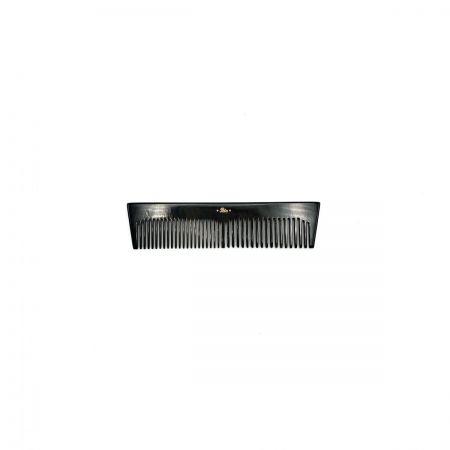 Taschenkamm 10,5 cm aus dunkel gemasertem Rinderhorn