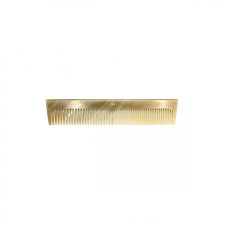 Taschenkamm 13,5 cm aus hell gemasertem Rinderhorn