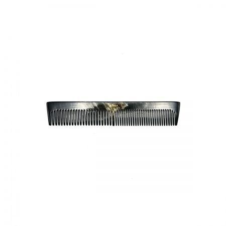 Taschenkamm 13,5 cm aus dunkel gemasertem Rinderhorn