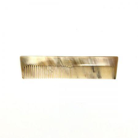 Frisierkamm 16,5 cm aus hell gemasertem Rinderhorn
