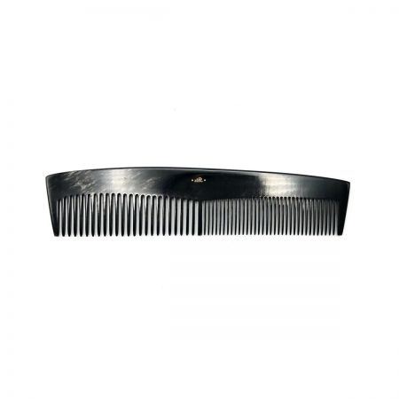 Frisierkamm 17 cm aus dunkel gemasertem Rinderhorn