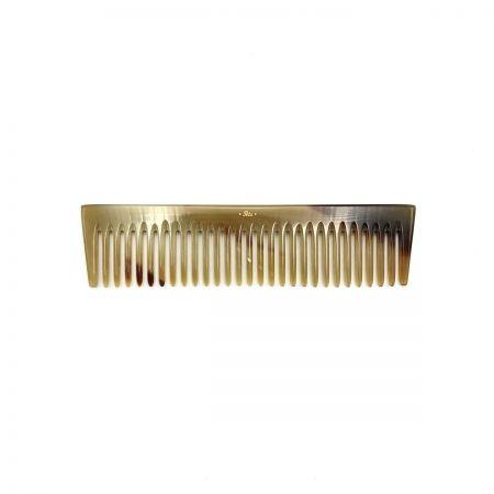 Frisierkamm 15,5 cm aus hell gemasertem Rinderhorn