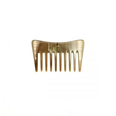 Stylingkamm 10,5 cm aus hell gemasertem Rinderhorn