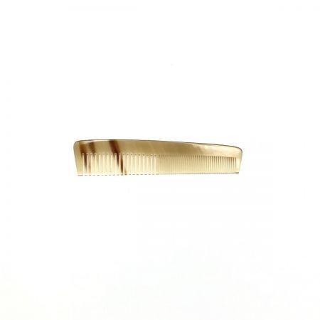 Taschenkamm 12,5 cm aus hell gemasertem Rinderhorn