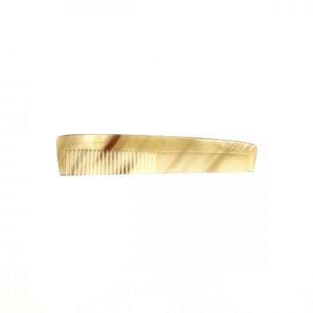 Frisierkamm 15 cm aus hell gemasertem Rinderhorn