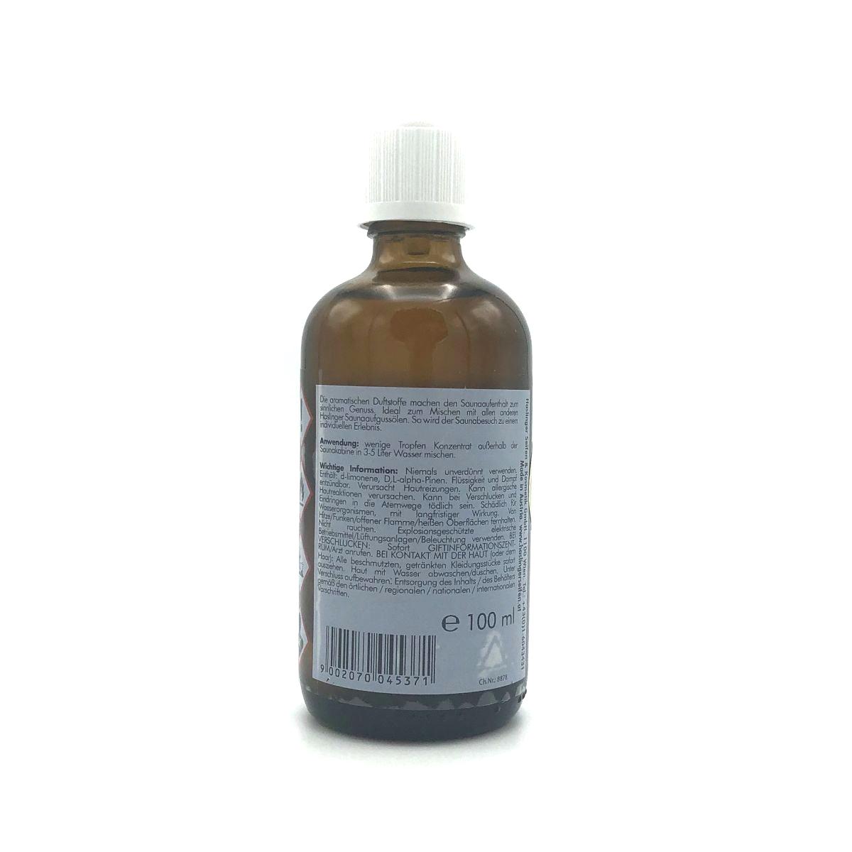 Sauna-Aufguss-Öl 'Orange' von HASLINGER