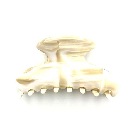 Haarklammer creme - mittel - 9 cm