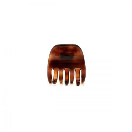 Haarklammer rotbraun - kurz, mittel - 4 cm