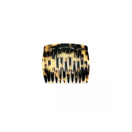 Steckkamm schwarz/honig - 6 cm