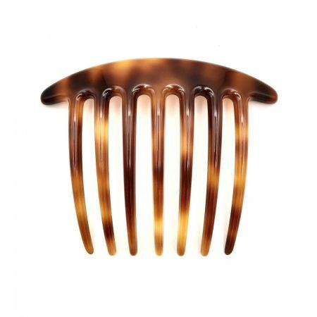 Steckkamm rotbraun - extra lange Zähne - 10,5 cm