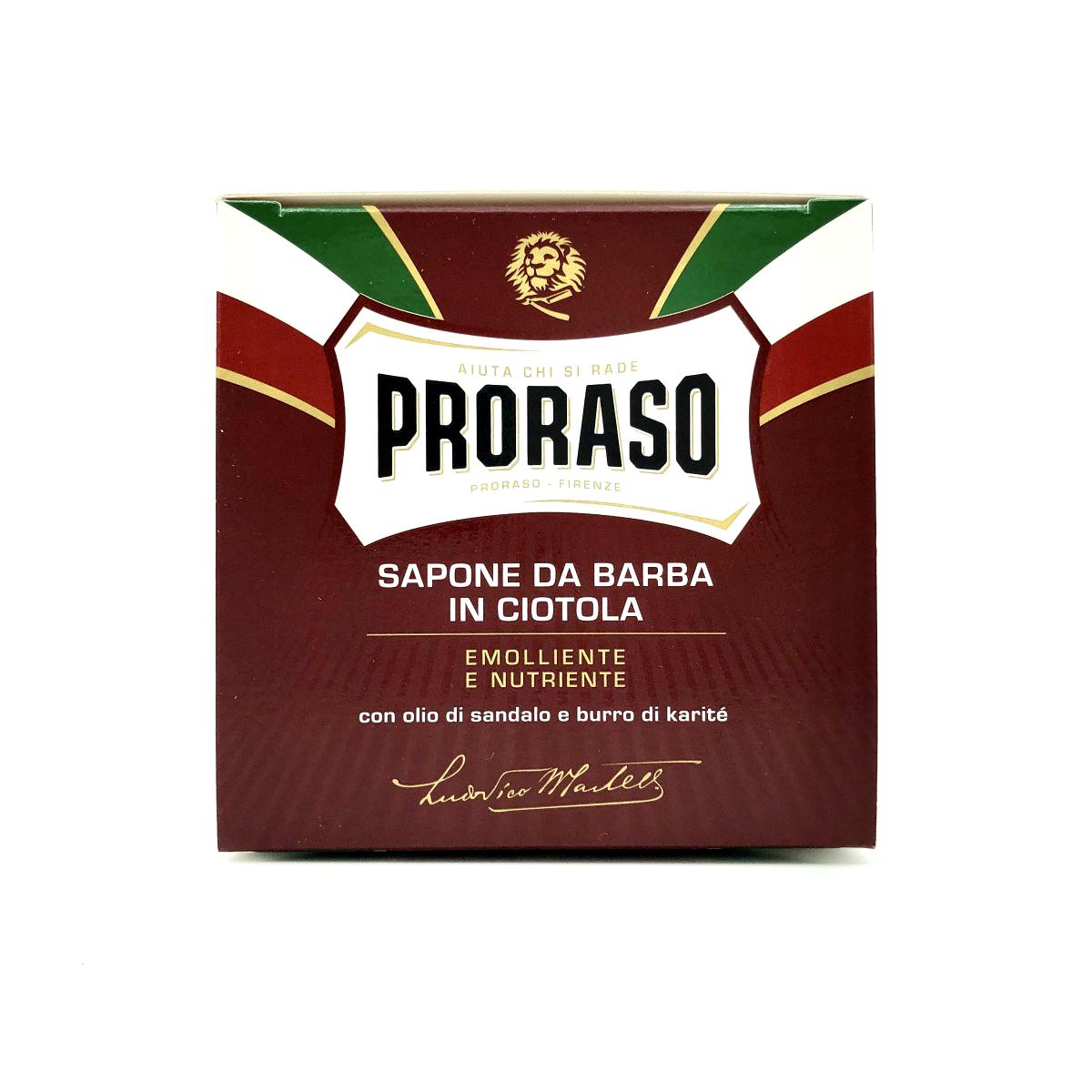 Rasiercreme von Proraso - rot