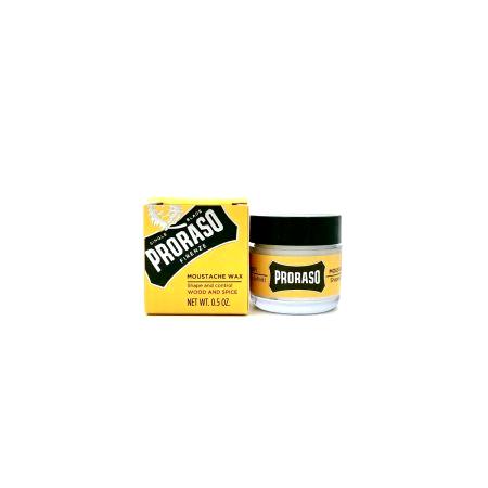 Bartwachs von Proraso - wood & spice - 15 ml
