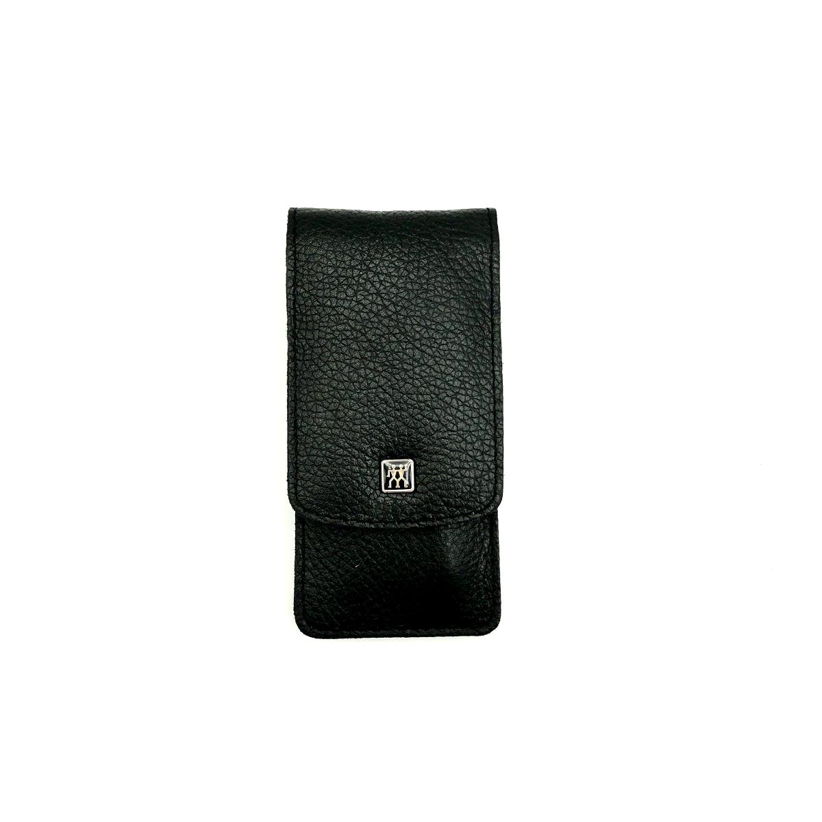 Taschen-Etui Z schwarz, 3teilig, Edelstahl rostfrei
