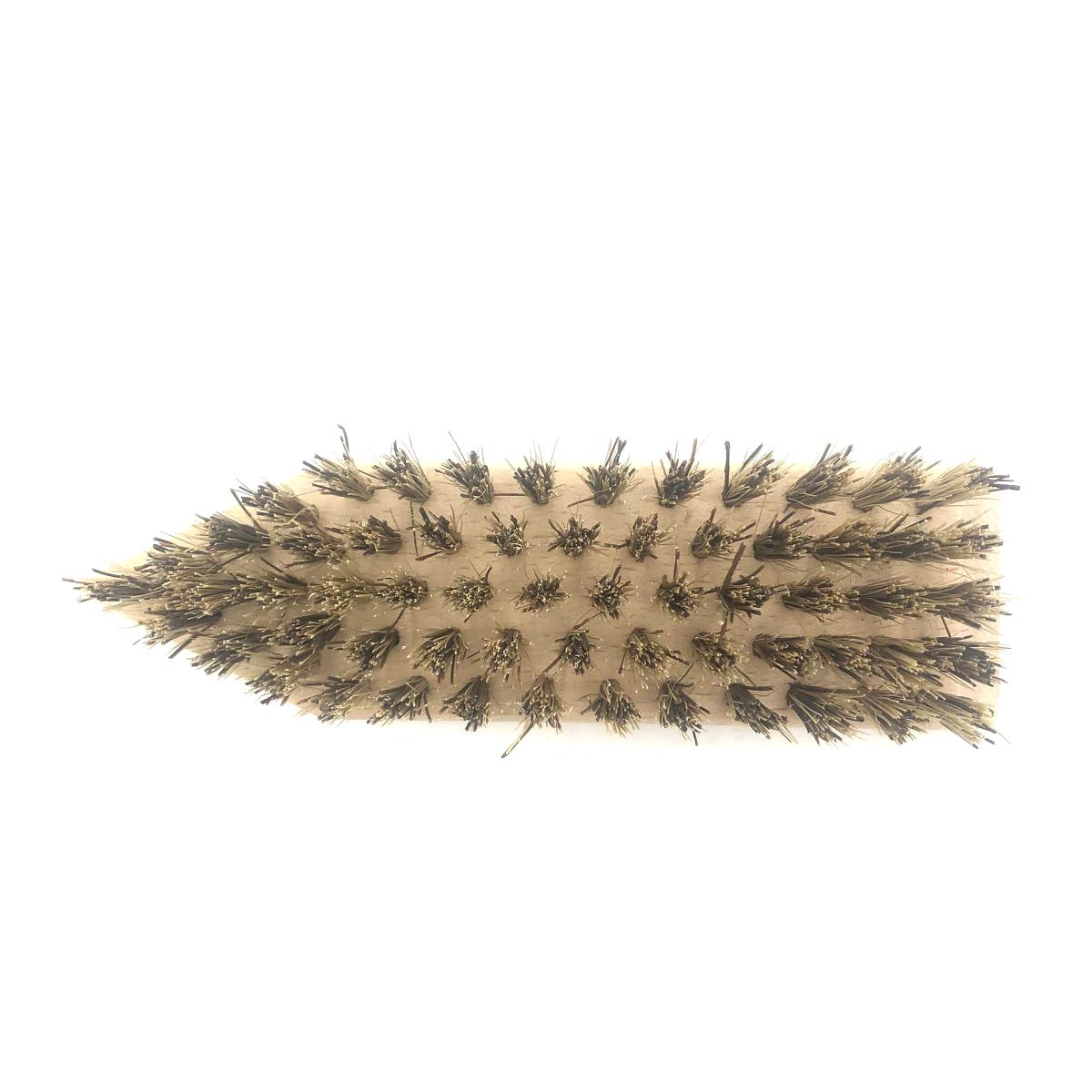 Schuh-Schmutzbürste groß mit Pflanzenfaser