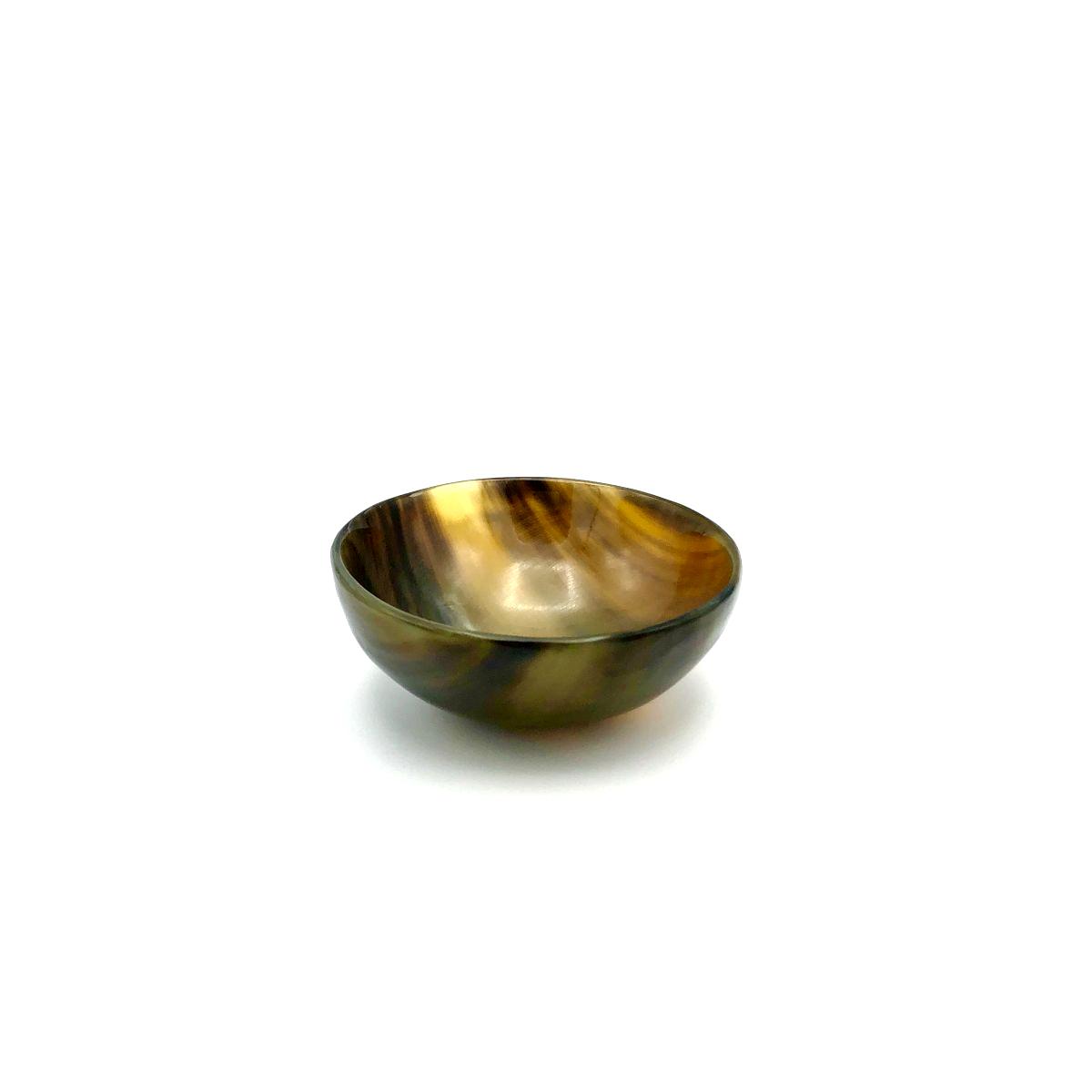 Schüssel 8 cm aus Naturhorn